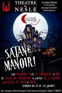 Affiche Satané Manoir! (400x600mm)